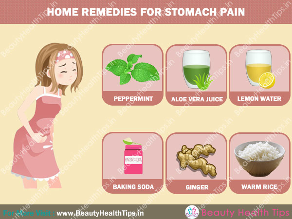 Get Rid Of Stomach Pain Naturally